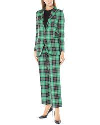 Tagliatore 0205 Women's Suit - Green