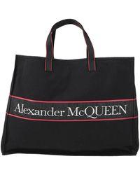 Alexander McQueen Bolso de mano - Negro