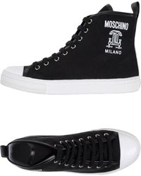 Moschino High-tops & Trainers - Black