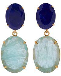 Bounkit Earrings - Metallic