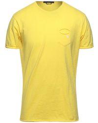 Daniele Alessandrini T-shirt - Yellow
