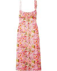 Commission Midi Dress - Pink