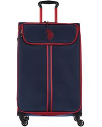 U.S. POLO ASSN. Wheeled Luggage - Blue
