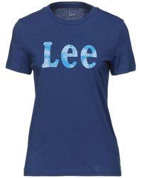 Lee Jeans T-shirts - Blau