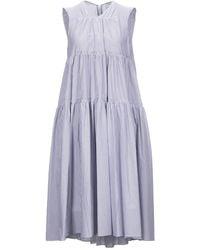 Patou Knielanges Kleid - Blau