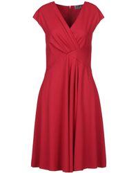 Armani Knee-length Dress - Red