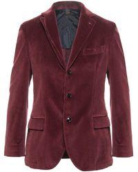 Mp Massimo Piombo Suit Jacket - Purple