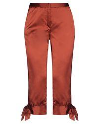 Versus 3/4-length Pants - Red