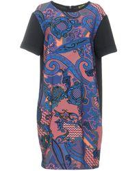 Versace Jeans - Short Dress - Lyst