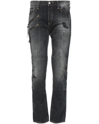 HTC Denim Pants - Black