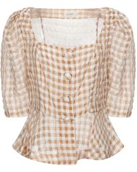 Isa Arfen Shirt - Brown