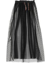N°21 Long Skirt - Black