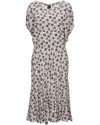 Aspesi 3/4 Length Dress - White
