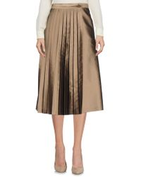 Rossella Jardini - 3/4 Length Skirt - Lyst