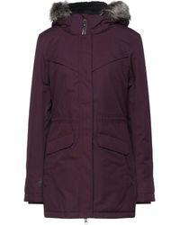 O'neill Sportswear Coat - Purple