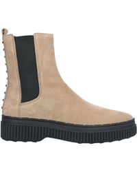 Tod's Ankle Boots - Natural
