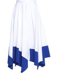 Vionnet - 3/4 Length Skirt - Lyst