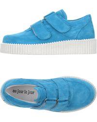 Au Jour Le Jour Low-tops & Sneakers - Blue