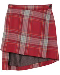 Vivienne Westwood Mini Skirt - Red