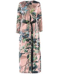 Agnona Long Dress - Pink