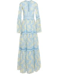Costarellos Long Dress - Blue