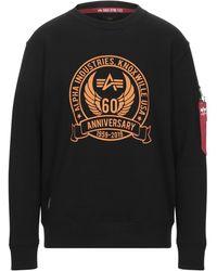 Alpha Industries Sweatshirt - Black