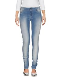 Met Pantaloni jeans - Blu