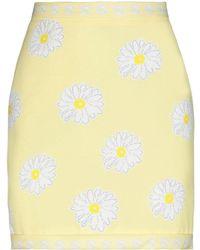 KATE BY LALTRAMODA Mini Skirt - Yellow