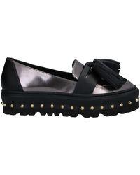 Grey Mer Loafer - Black