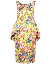 Moschino Short Dress - Yellow