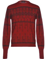Ballantyne Pullover - Rouge