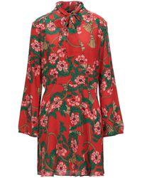 Hayley Menzies Kurzes Kleid - Rot