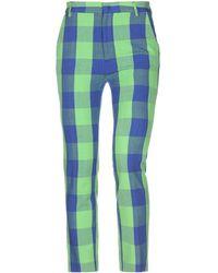Stella Jean Casual Trouser - Green