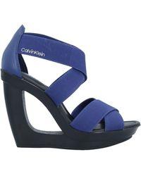 Calvin Klein Sandals - Blue