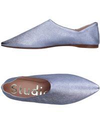 Acne Studios Ballet Flats - Metallic