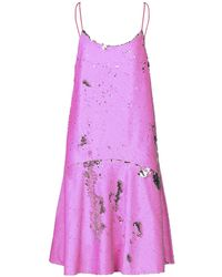 Essentiel Antwerp Knee-length Dress - Purple