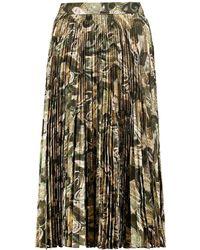 Haute Hippie 3/4 Length Skirt - Green