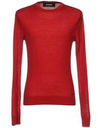 DSquared² Pullover - Rojo