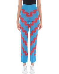 VIKI-AND Casual Trouser - Blue