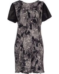 Cut25 by Yigal Azrouël Short Dress - Gray
