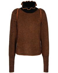 See By Chloé Turtleneck - Brown