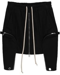 Rick Owens DRKSHDW Minifalda - Negro