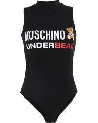 Moschino Lingerie Bodysuit - Black