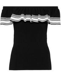 Autumn Cashmere Top - Black