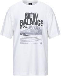 New Balance - T-shirts - Lyst