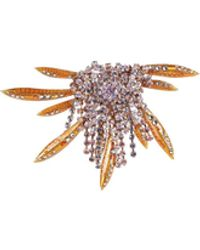 Dries Van Noten Broche - Orange