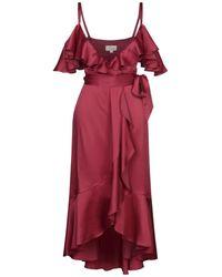 Temperley London 3/4 Length Dress - Red