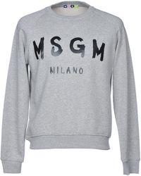 MSGM - Sweatshirt - Lyst