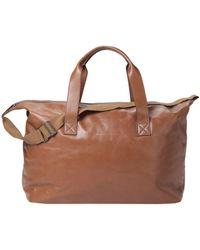 Brunello Cucinelli Travel Duffel Bags - Brown