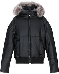 Bikkembergs Synthetic Down Jacket - Black